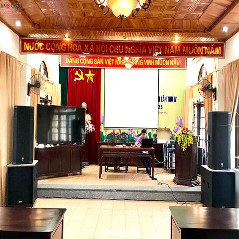 Dàn âm thanh hội trường tại phường Vũ Ninh, Bắc Ninh