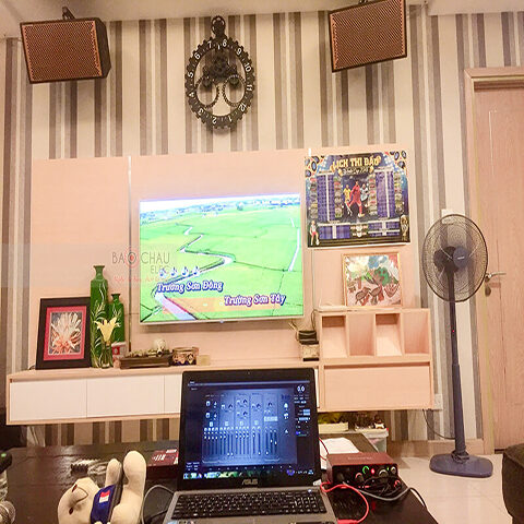 Dàn karaoke cao cấp của anh Nguyên tại Khuất Duy Tiến, HN