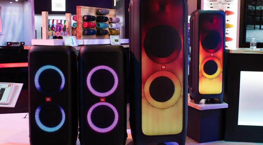 Đánh giá Loa JBL PartyBox 300 và JBL PartyBox 1000 chi tiết nhất