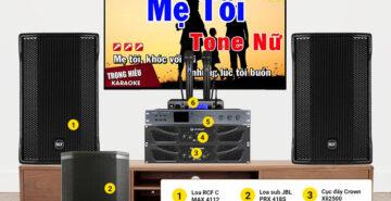 Gợi ý 3 bộ dàn karaoke cao cấp không thể bỏ qua dịp hè này