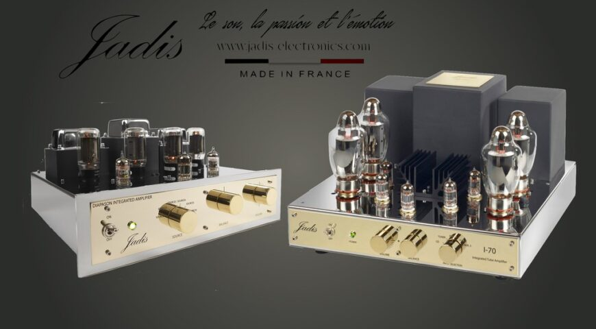 Diapason Luxe và I-70 – Hai mẫu ampli đèn tích hợp mới nhất của Jadis