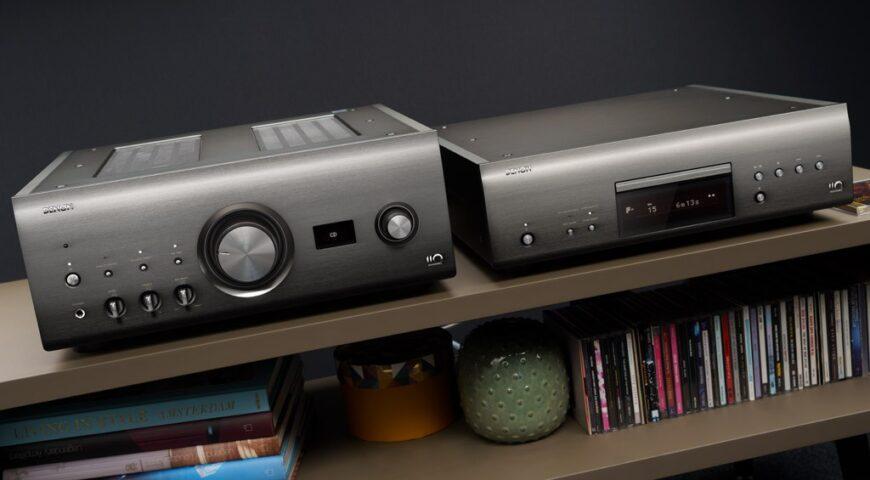 Khám phá đầu đọc DCD-A110 & Amply PMA-A110 – Bộ đôi thiết bị hi-end kỷ niệm 110 năm thương hiệu Denon